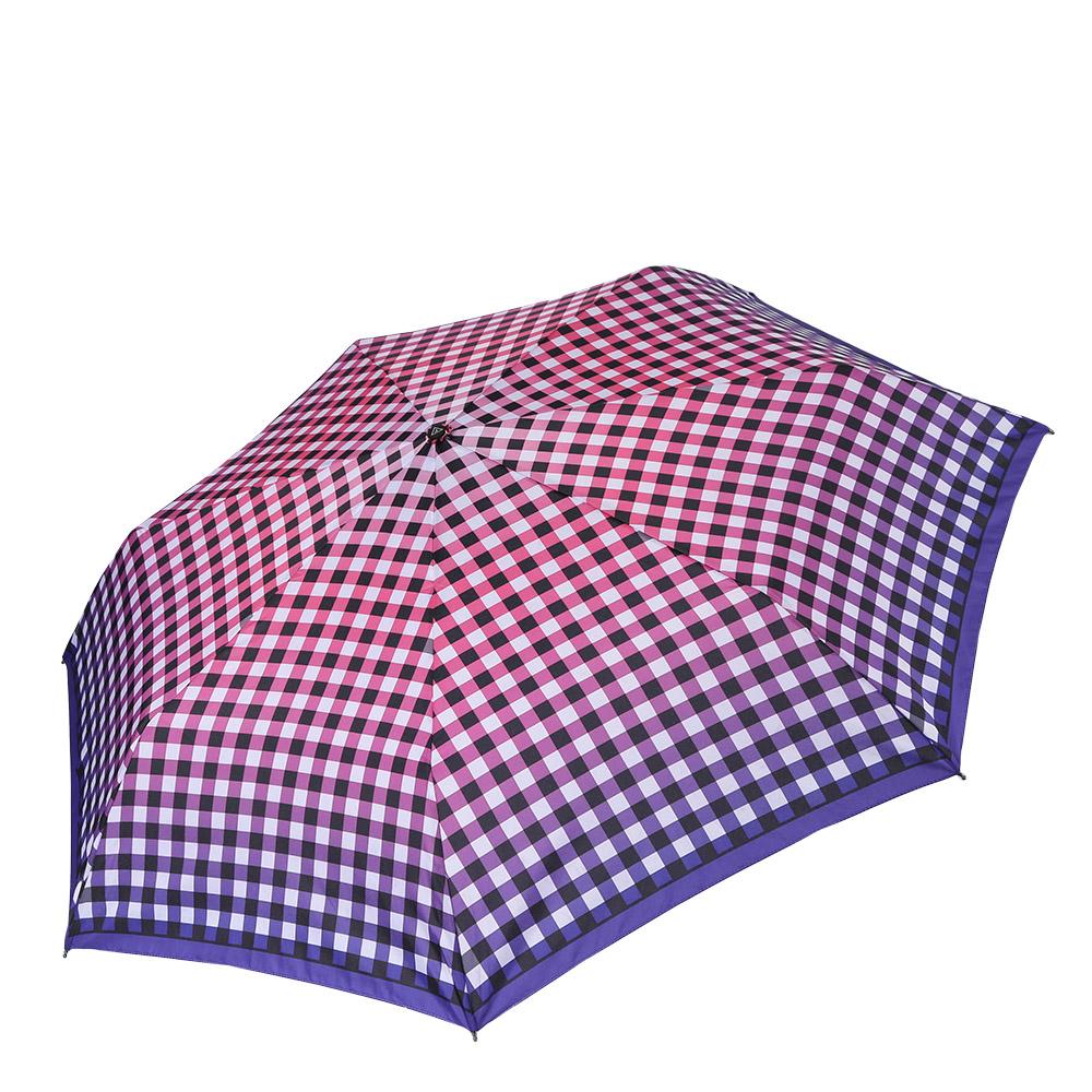 Зонт женский Fabretti, цвет: мультиколор. P-17100-11Бусы-ниткаКомпактный женский зонт от итальянского бренда Fabretti очень легок, поэтому без труда поместится в любую женскую сумку. Сочное сочетание фиолетового и розового оттенка и стильная клетка подчеркнут ваш изысканный вкус и сделают вас неотразимыми в любую непогоду! Зонт имеет автоматический механизм сложения, благодаря чему открыть зонт можно одной рукой, что чрезвычайно удобно при выходе из транспорта или помещения. Материал купола - полиэстер, обладает высокой прочностью и износостойкостью. Вода на куполе из такого материала скатывается каплями вниз, а не впитывается, на нем практически не видны следы изгибов. Эргономичная ручка сделана из высококачественного пластика-полиуретана с противоскользящей обработкой.