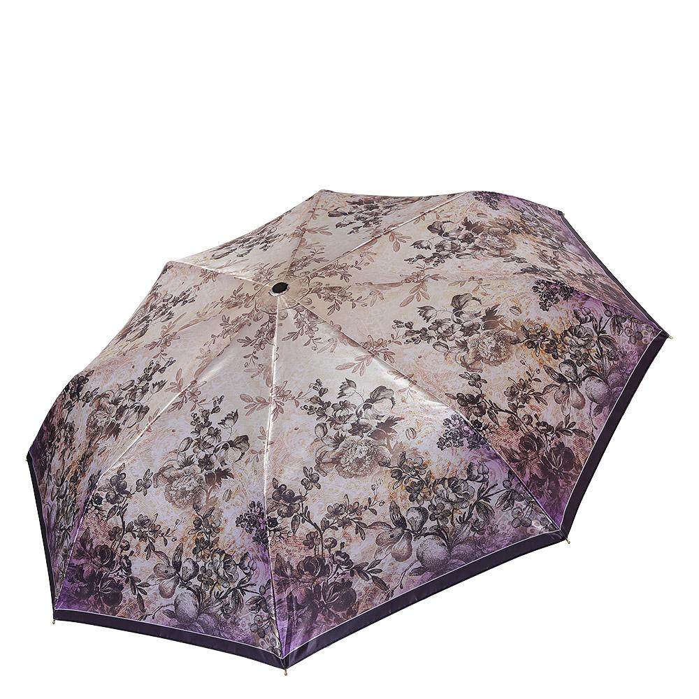 Зонт женский Fabretti, цвет: бежевый. S-17100-139890|Колье (короткие одноярусные бусы)Классический женский зонт от итальянского бренда Fabretti. Изысканная комбинация бежевого и сиреневого цвета, роскошный цветочный принт с легкостью подчеркнут ваш вкус и сделают вас неотразимой в любую непогоду! Значительным преимуществом данной модели является система антиветер, которая позволяет выдержать сильные порывы ветра. Материал купола – сатин. Он невероятно изящен, приятен на ощупь, обладает высокой прочностью, а также устойчив к выцветанию. Эргономичная ручка сделана из высококачественного пластика-полиуретана с противоскользящей обработкой.