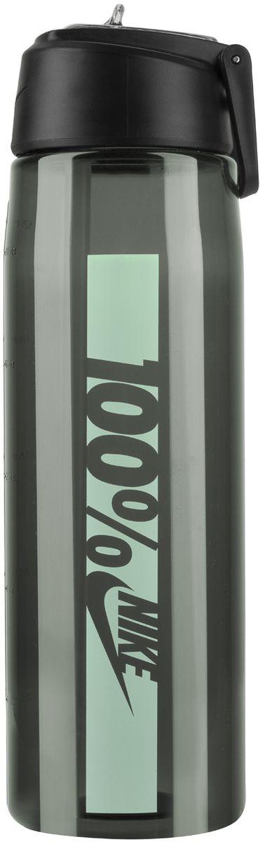 Бутылка для воды Nike Core Flow 100 Water Bottle 24oz, цвет: темно-серый, мятный, 709 млVT-1520(SR)Бутылка для воды Nike Core Flow 100 Water Bottle 24oz с горлышком, которое поднимается на 90 градусов, что обеспечивает простоту в использовании.Бутылка дополнена измерительной шкалой. Возможно мытье в посудомоечной машине, легко собирается и разбирается.Технология материала Tritan обеспечивает долговечность и ударопрочность.Объем: 709 мл.Высота: 23 см.Диаметр (по нижнему краю): 7 см.