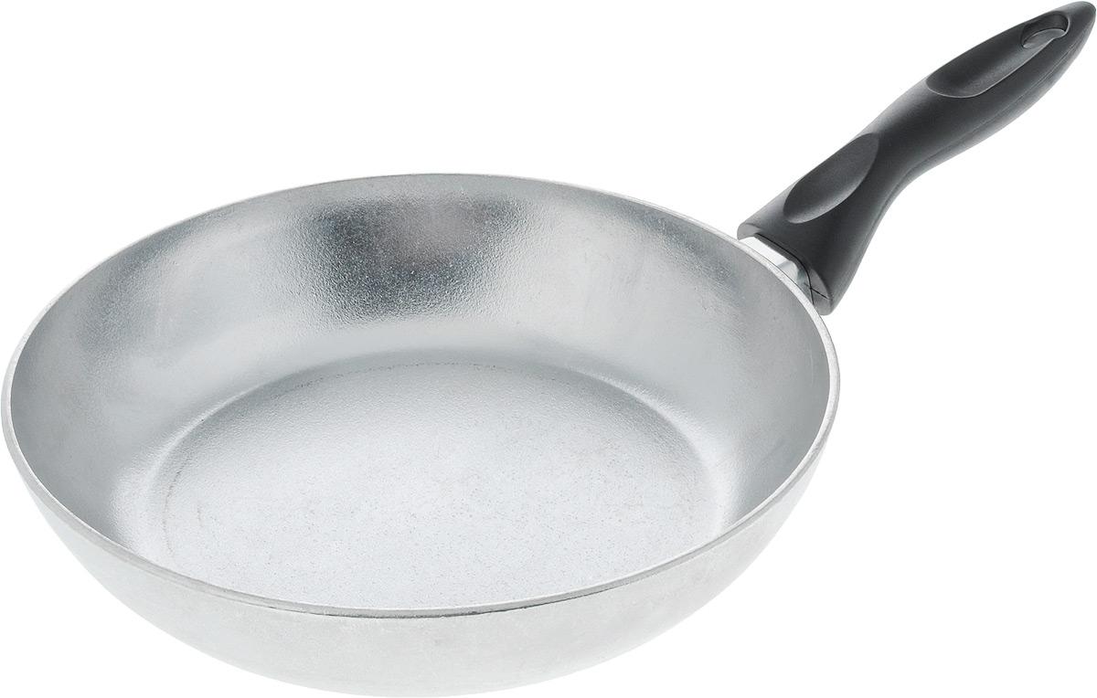 Сковорода Алита Сударыня. Диаметр 24 см54 009312Сковорода Алита Хозяюшка изготовлена из литого алюминия. Пища не пригорает и не прилипает к стенкам, готовить можно с минимальным количеством масла и жиров. Гладкая поверхность обеспечивает легкость ухода за посудой.Сковорода оснащена удобной ручкой. Подходит для использования на всех типах плит, кроме индукционных.Диаметр сковороды (по верхнему краю): 24 см.Высота стенки: 5,5 см.Длина ручки: 15,5 см.