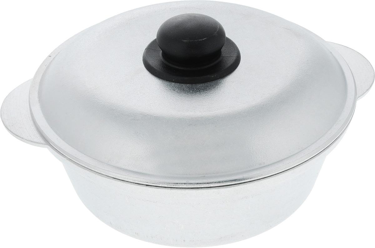 Кастрюля Алита Боярыня с крышкой, 2,5 л94672Кастрюля Алита изготовлена из литого алюминия, благодаря чему, пища не пригорает и не прилипает к стенкам. Гладкая поверхностьобеспечивает легкость ухода за посудой.Кастрюля оснащена крышкой из алюминия с пластиковой ручкой.Подходит для всех типов плит, кроме индукционных. Размер кастрюли (по верхнему краю с учетом ручек): 29 см.Высота стенки кастрюли: 8,7 см. Диаметр крышки: 25 см.