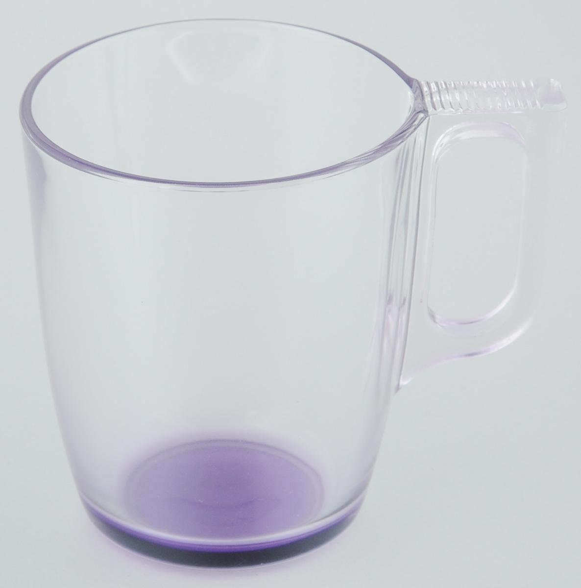 Кружка Luminarc, 250 мл24709Кружка Luminarc, изготовленная из прочного темного стекла, прекрасно подойдет для подачи горячих и холодных напитков. Она дополнит коллекцию вашей кухонной посуды и будет служить долгие годы. Диаметр кружки (по верхнему краю): 7,3 см. Высота кружки: 8 см.