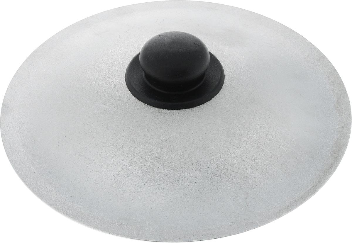 Крышка Алита. Диаметр 26 смFS-91909Крышка Алита, изготовленная из литого алюминия и оснащена ручкой из термостойкого пластика. Изделие удобно в использовании при приготовлении пищи.Диаметр крышки: 26 см.Высота крышки (с учетом ручки): 5,5 см.
