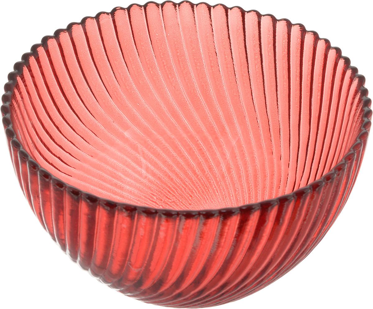 Салатник NiNaGlass Альтера, цвет: рубиновый, диаметр 12 см115510Салатник NiNaGlass Альтера изготовлен из прочного стекла. Идеально подходит для сервировки стола.Салатник не только украсит ваш кухонный стол и подчеркнет прекрасный вкус хозяйки, но и станет отличным подарком. Диаметр салатника (по верхнему краю): 12 см. Высота салатника: 7,5 см.