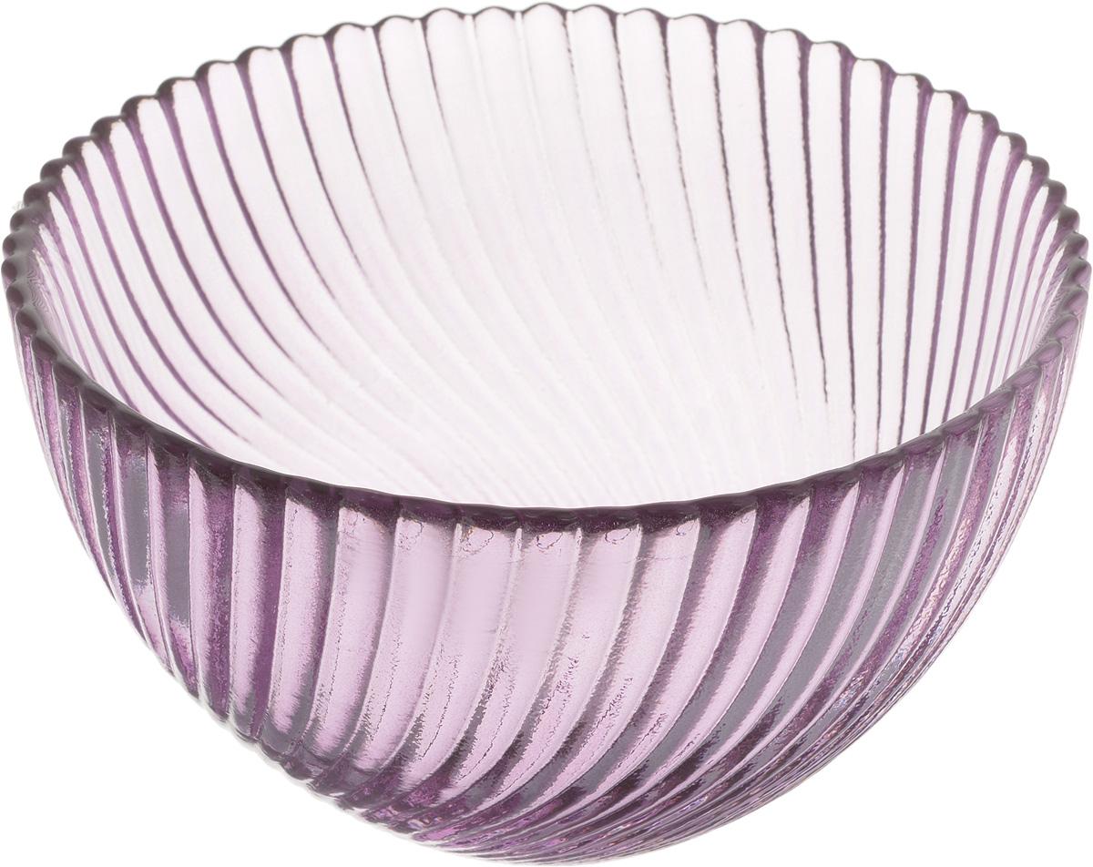 Салатник NiNaGlass Альтера, цвет: сиреневый, диаметр 12 см642786_красныйСалатник NiNaGlass Альтера изготовлен из прочного стекла. Идеально подходит для сервировки стола.Салатник не только украсит ваш кухонный стол и подчеркнет прекрасный вкус хозяйки, но и станет отличным подарком. Диаметр салатника (по верхнему краю): 12 см. Высота салатника: 7,5 см.