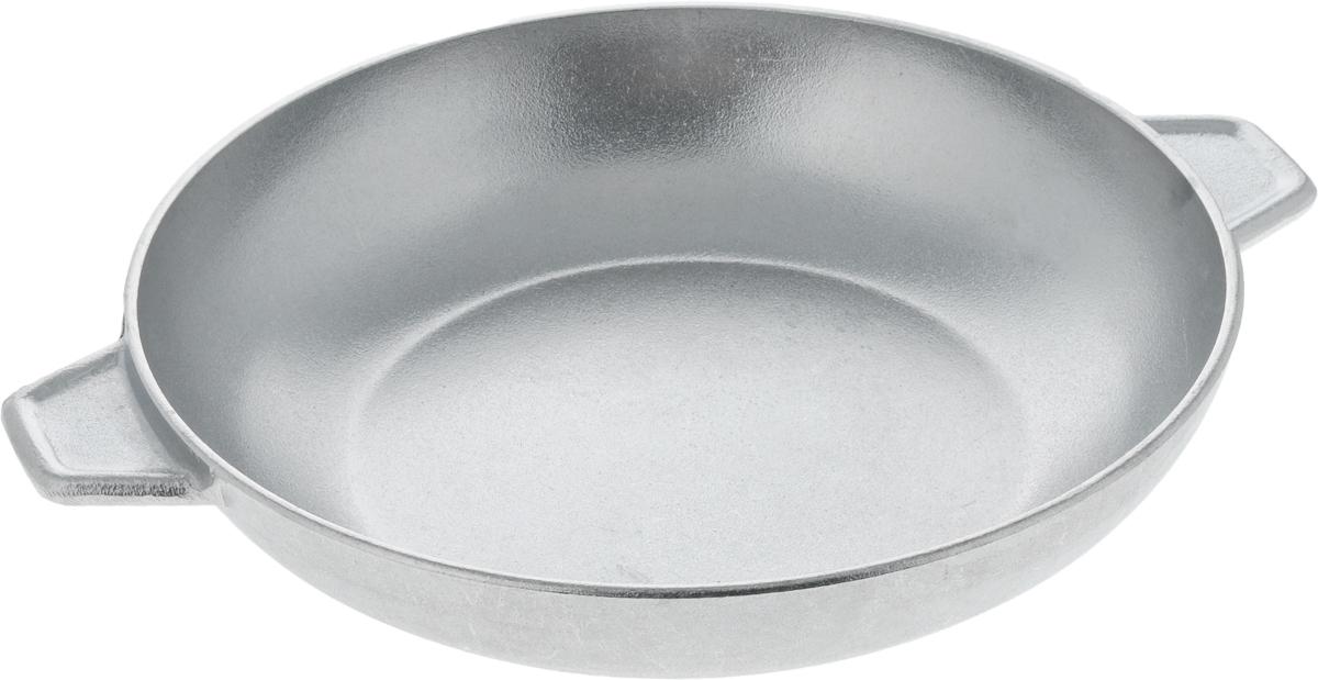 Сковорода Алита Б-08, диаметр 28 см54 009312Сковорода Алита Б-08 изготовлена из высококачественного литого алюминия. Изделие оснащено удобными ручками. >Подходит для использования для газовых и электрических плит. Можно мыть в посудомоечной машине. Диаметр сковороды (по верхнему краю): 28 см.Высота стенки: 6,5 см.