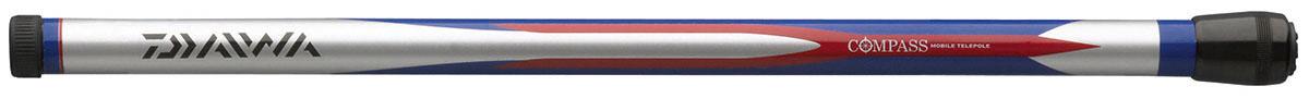 Удилище без колец Daiwa Compass Mobile Telepole, 3 мPGPS7797CIS08GBNVТелескопические маховые удилища с короткими коленами. Всобранном состоянии длина составляет всего 40 см, что позволит вамвзять удилище в любое путешествие. Бланк из графитового материаладелает удилище легким, но исключительно прочным.