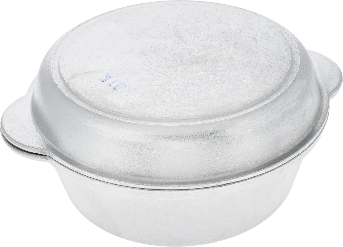 Кастрюля Алита Латка с крышкой, 2,5 л391602Кастрюля Алита Латка изготовлена из литого алюминия. Благодаря толстым стенкам и утолщенному дну тепло равномерно распределяется по всей поверхности и долго сохраняется. Изделие оснащено крышкой с литыми ручками, которую можно использовать отдельно, как сковороду. Можно использовать на газовых и электрических плитах. Диаметр кастрюли (по верхнему краю): 22,5 см.Высота стенки кастрюли: 8,5 см.Ширина кастрюли (с учетом ручек): 29 см. Высота крышки: 4,5 см. Ширина крышки (с учетом ручек): 28,5.