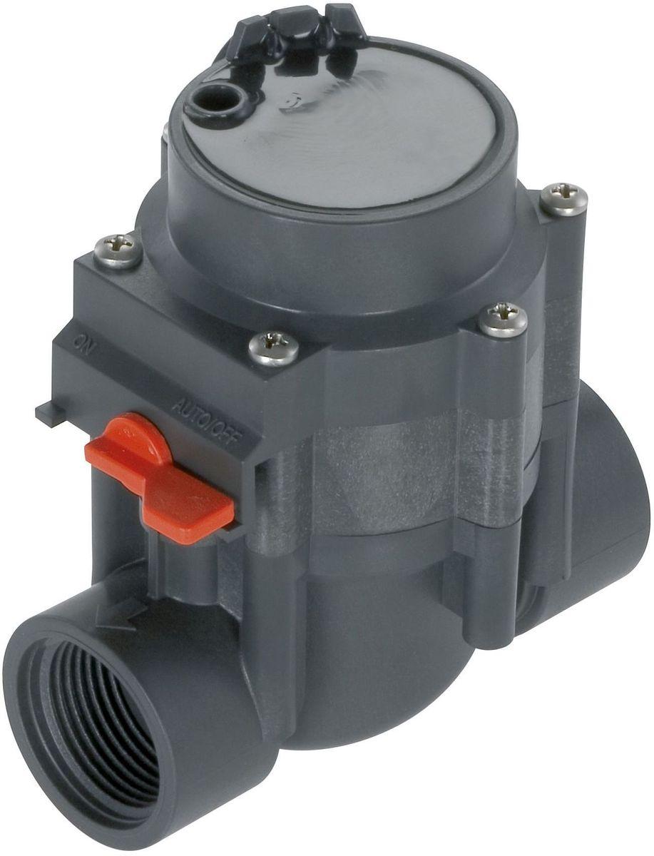 Клапан для полива Gardena, 24 В106-026Клапан для полива Gardena предназначен для обеспечения работы систем управления поливом 4040 modular, 4030 и 6030, а также дополнительного модуля Comfort. Для подсоединения элементов предусмотрена внутренняя резьба 1 дюйм. При необходимости предусмотрена возможность открытия/закрытия клапана вручную, при этом полив может начинаться и прекращаться независимо от действия автоматической системы управления поливом. Встроенный самоочищающийся фильтр гарантирует безотказную работу устройства. Клапан для полива Gardena рассчитан на рабочее давление 0,5-12 бар.