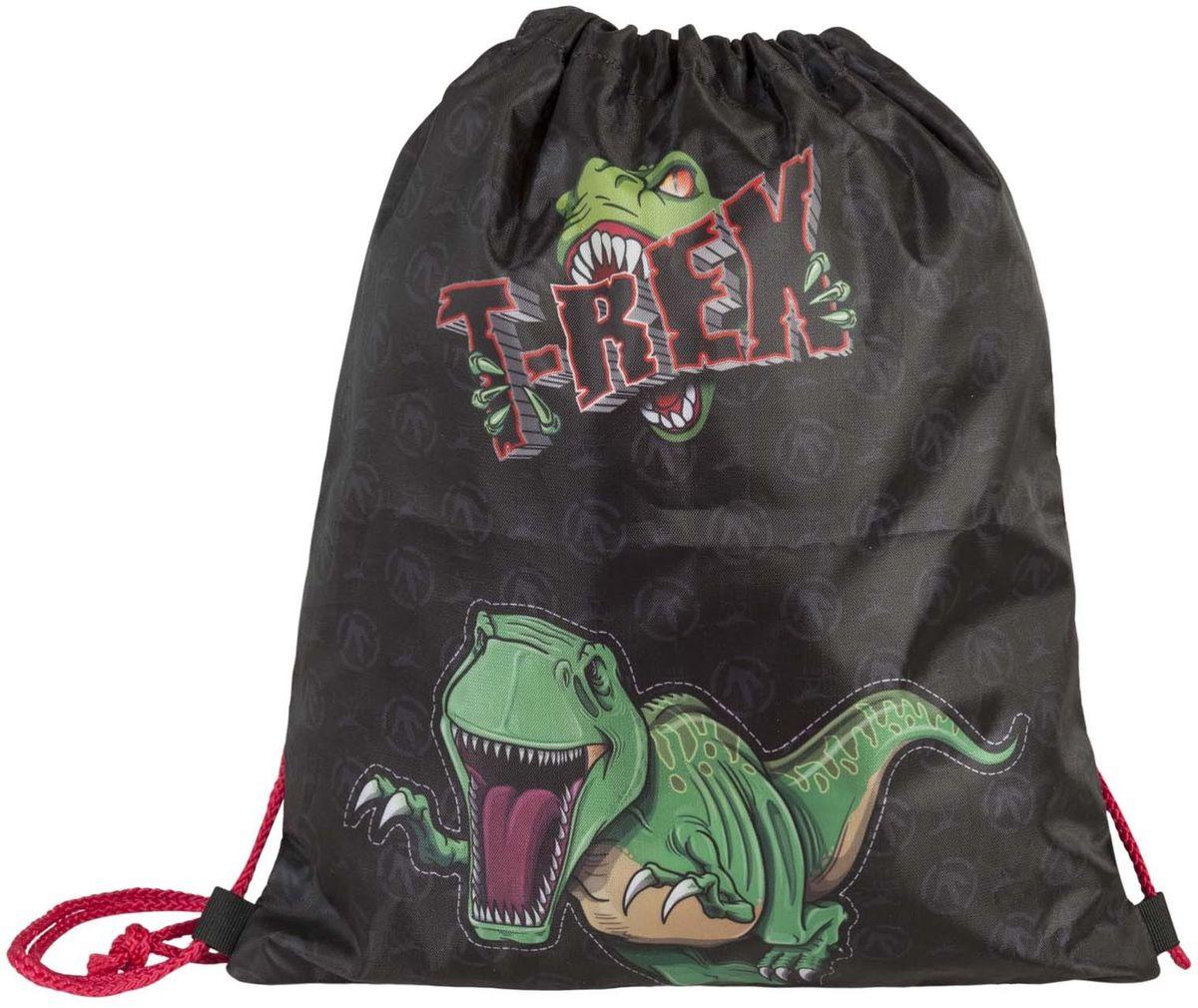 Target Collection Сумка для детской сменной обуви Динозавр Тирекс 1792272523WDСумка для переноски детской обуви, выполнена из плотного водостойкого материала, затягивается сверху шнурком и носится, как рюкзак.