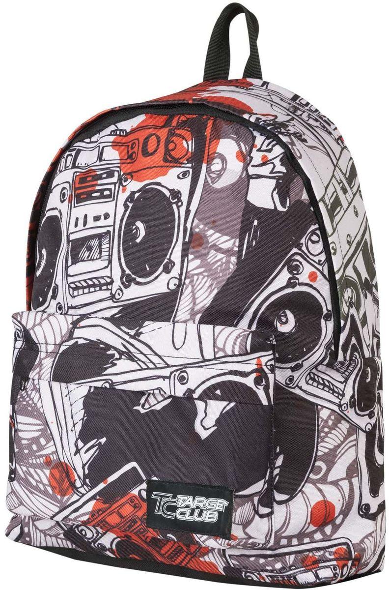 Target Collection Рюкзак Music 1737772523WDРюкзак молодежный с одним большим отделением, на передней стенке рюкзака большой карман на молнии, дополнительная ручка-петля, регулируемые лямки