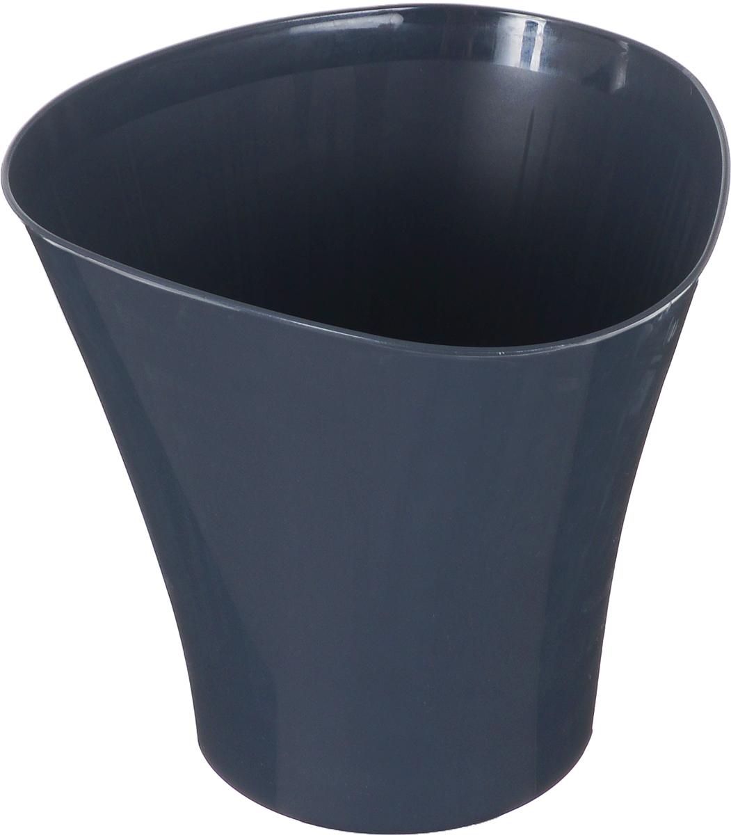 Кашпо JetPlast Волна, цвет: антрацит, 3 лMRC161MКашпо Волна имеет уникальную форму, сочетающуюся как с классическим, так и с современным дизайном интерьера. Оно изготовлено из прочного полипропилена (пластика) и предназначено для выращивания растений, цветов и трав в домашних условиях. Такое кашпо порадует вас функциональностью, а благодаря лаконичному дизайну впишется в любой интерьер помещения. Объем кашпо: 3 л.