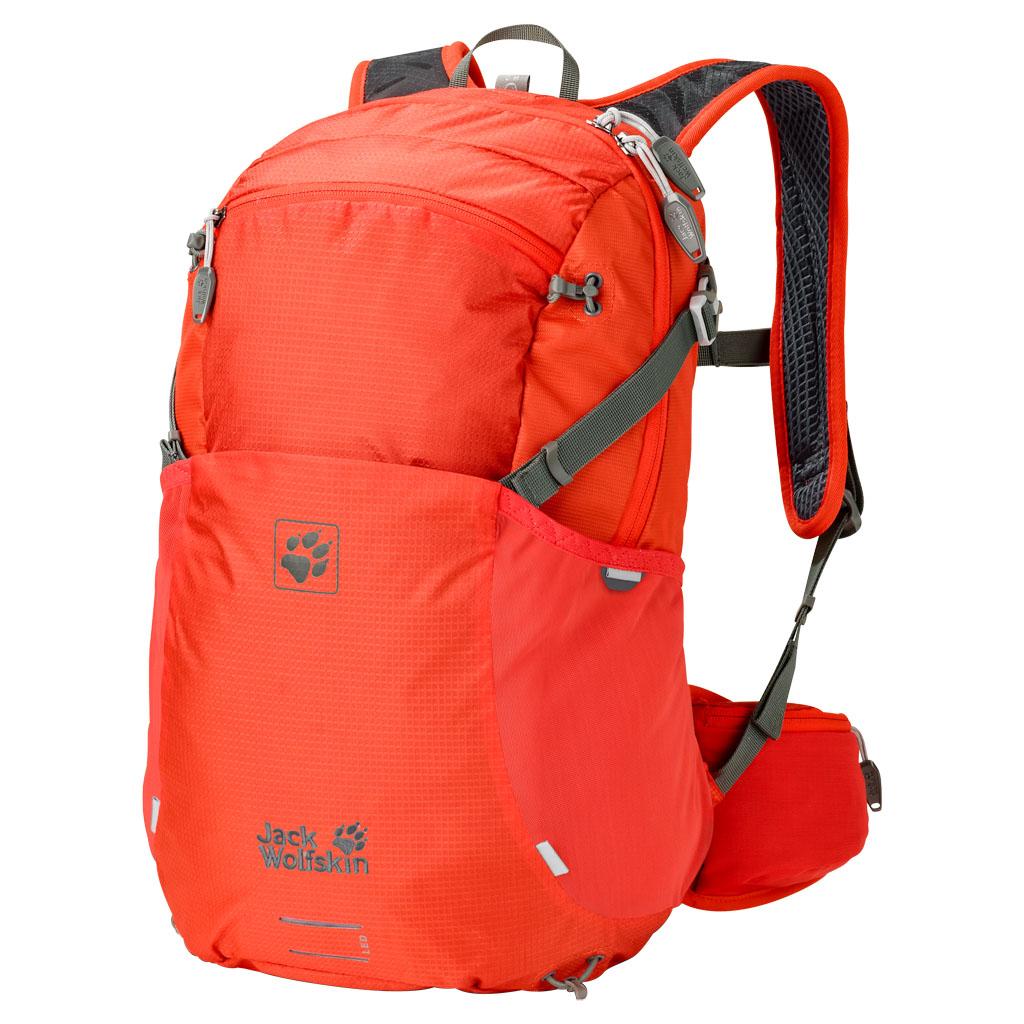 Рюкзак туристический женский Jack Wolfskin  Moab Jam 18 , цвет: коралловый. 2002323-2424 - Туристические рюкзаки