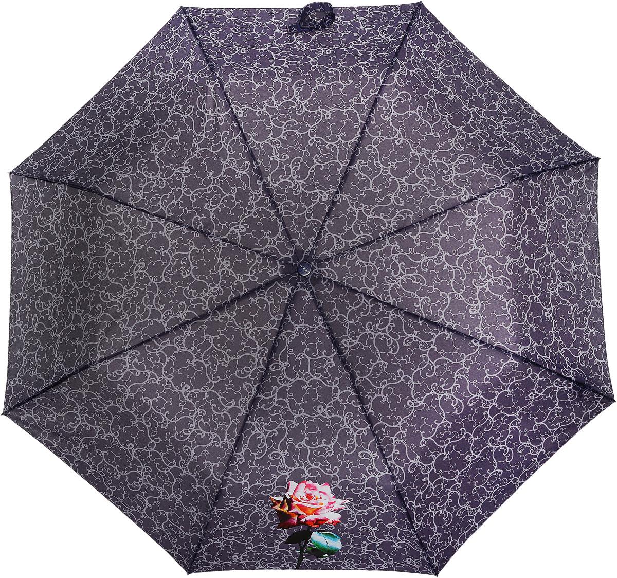 Зонт женский Airton, механический, 3 сложения, цвет: красно-коричневый, оранжевый. 3511-2002591АКлассический женский зонт Airton в 3 сложения имеет механическую систему открытия и закрытия.Каркас зонта выполнен из восьми спиц на прочном стержне. Купол зонта изготовлен из прочного полиэстера. Практичная рукоятка закругленной формы разработана с учетом требований эргономики и выполнена из качественного пластика с противоскользящей обработкой.Такой зонт оснащен системой антиветер, которая позволяет спицам при порывах ветрах выгибаться наизнанку, и при этом не ломаться. К зонту прилагается чехол.