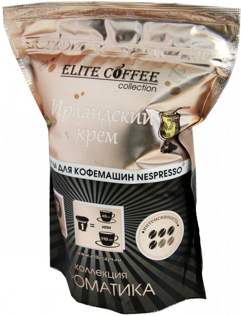 Elite Coffee Collection Ирландский крем кофе в капсулах, 10 шт4623721665059Аромат ореха тонко подчеркивает вкус натурального кофе арабика, дополняя и усиливая его. А тропические нотки оставляют на ваших губах легкий привкус экзотических плодов. Тонкий нежный аромат и мягкий вкус станет настоящей находкой для тех, кто мечтает о тепле и ласке. 100% Арабика.