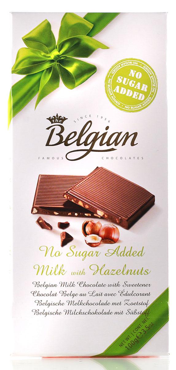 The Belgian Шоколад молочный без сахара с орехами, 100 г7.33.12Шоколад элегантного цвета имеет тонкий аромат с нотами тостов, ванили и какао. Насыщенный вкус лакомства демонстрирует ноты обжаренного лесного ореха, сладких специй и какао. Шоколад подается к портвейну и вину Каберне Совиньон, к чашечке зеленого чая, фруктовым сокам, минеральной воде.