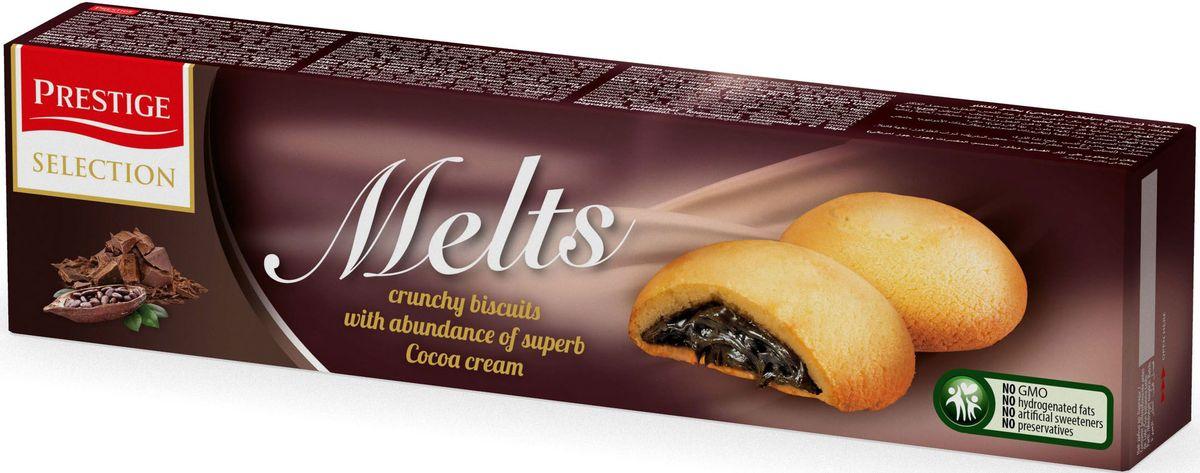 Prestige Печенье с какао начинкой, 134 г печенье умные сладости шоколадное