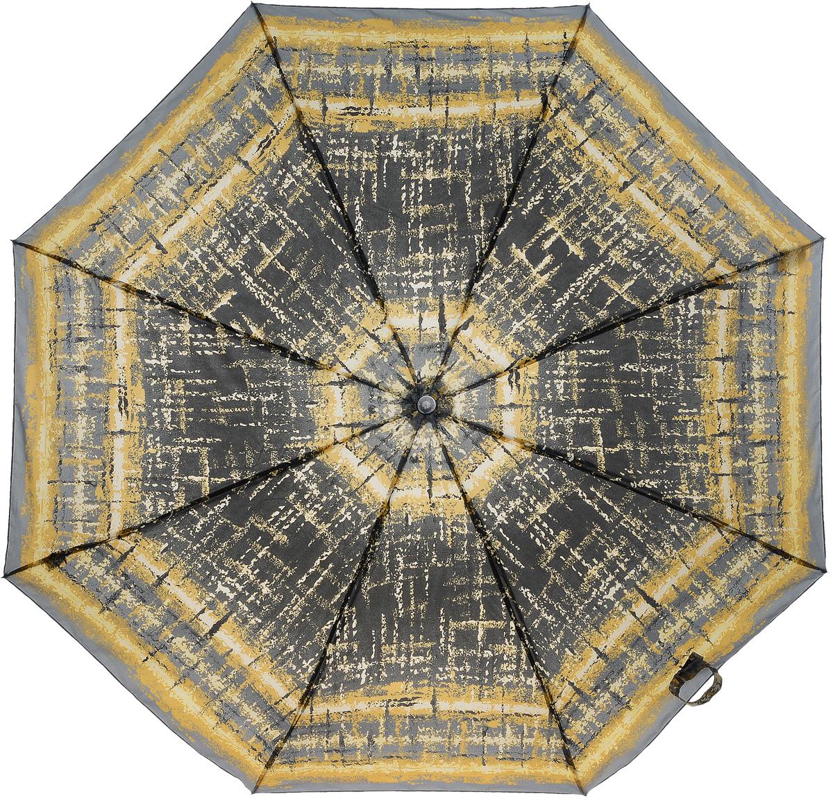 Зонт женский Prize, механический, 3 сложения, цвет: темно-серый, оранжевый. 355-184CX1516-50-10Классический женский зонт в 3 сложения с механической системой открытия и закрытия. Удобная ручка выполнена из пластика. Модель зонта выполнена в стандартном размере. Данная модель пердставляет собой эконом класс.