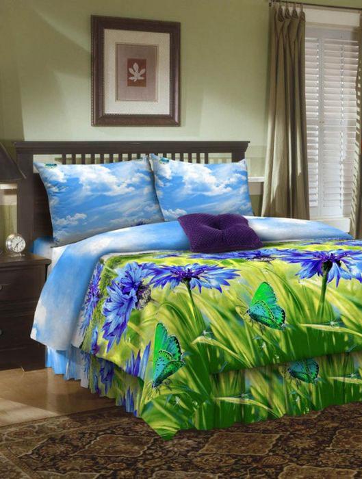 Комплект белья ROKO, евро, наволочки 70х70, цвет: голубой, зеленый, синий4630003364517Комплект белья ROKO состоит из простыни, пододеяльника и двух наволочек. Для производства постельного белья используются экологичные ткани высочайшего качества. Бязь - хлопчатобумажная плотная ткань полотняного переплетения. Отличается прочностью и стойкостью к многочисленным стиркам. Бязь считается одной из наиболее подходящих тканей для производства постельного белья и пользуется в России большим спросом.