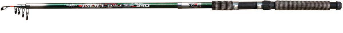 Удилище спиннинговое SWD Bull-Paul, телескопическое, 2,4 м, 30-60 гPGPS7797CIS08GBNVУдилище спиннинговое SWD Bull-Paul изготовлено из высококачественного стеклопластика, что обеспечивает ему легкость и прочность. Телескопическая конструкция обеспечивает изделию легкость транспортировки, вы сможете взять его с собой куда угодно. Удилище оснащено металлическими кольцами. Ручка из мягкого неопрена не выскальзывает из рук, приятна на ощупь.Дополнительно может использоваться в качестве донного или поплавочного удилища.