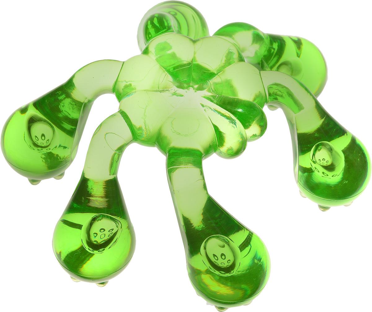 Лапонька-краб Мануальный массажер, цвет: зеленый26102026Лапонька-краб Мануальный массажер, цвет: зеленый
