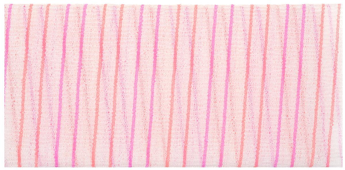 La Miso Мочалка массажная жесткая, цвет: розовые полосы. HAD-05HX6052/07Массажная мочалка эффективно очищает кожу от различных загрязнений, стимулирует кровообращение и улучшает тонус кожи, повышает её эластичность и упругость. Моментально образует большое количество пены, экономя время при процедуре принятия душа.