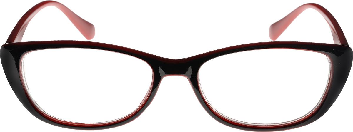 Proffi Home Очки корригирующие (для чтения) 3422 Oscar -1.00 цвет: черный, красныйAS009Proffi Home Очки корригирующие (для чтения) 3422 Oscar -1.00 цвет: черный, красный