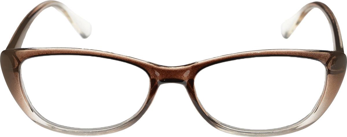 Proffi Home Очки корригирующие (для чтения) 3422 Oscar -2.00, цвет: коричневыйперфорационные unisexProffi Home Очки корригирующие (для чтения) 3422 Oscar -2.00, цвет: коричневый