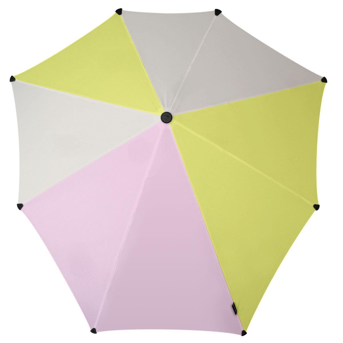 Зонт-трость Senz, цвет: серый, салатовый, розовый. 20110771003-ZK1268/zИнновационный противоштормовый зонт, выдерживающий любую непогоду. Входит в коллекцию global playground, разработанную в соответствии с современными течениями fashion-индустрии. Вдохновением для дизайнеров стали улицы городов по всему земному шару. На новых принтах вы встретите уникальный микс всего, что мы открываем для себя во время путешествий: разнообразие оттенков, цветов, теней, линий и форм. Зонт Senz отлично дополнит образ, подчеркнет индивидуальность и вкус своего обладателя.Форма купола продумана так, что вы легко найдете самое удобное положение на ветру – без паники и без борьбы со стихией. Закрывает спину от дождя. Благодаря своей усовершенствованной конструкции, зонт не выворачивается наизнанку даже при сильном ветре. Модель Senz Original выдержала испытания в аэротрубе со скоростью ветра 100 км/ч. Характеристики:- тип — трость- выдерживает порывы ветра до 100 км/ч- УФ-защита 50+- удобная мягкая ручка- безопасные колпачки на кончиках спицах- в комплекте прочный чехол из плотной ткани с лямкой на плечо - гарантия 2 года