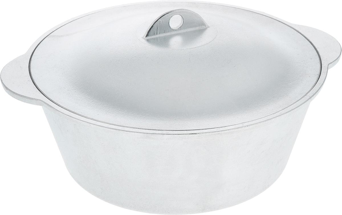 Кастрюля Алита с крышкой, 4 лк20сКастрюля Алита изготовлена из литого алюминия. Гладкая поверхность обеспечивает легкость ухода за посудой.Кастрюля оснащена крышкой из алюминия.Подходит для газовых и электрических плит. Ширина кастрюли (с учетом ручек): 32 см.Высота стенки кастрюли: 10,5 см.
