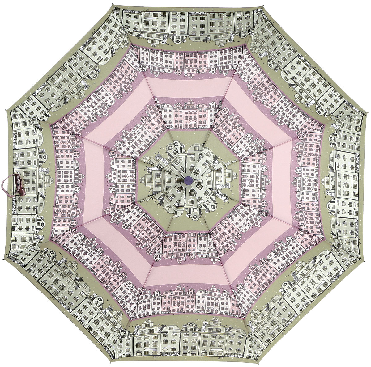 Зонт женский Airton, механический, 3 сложения, цвет: бежевый, розовый. 3515-120CX1516-50-10Классический женский зонт Airton в 3 сложения имеет механическую систему открытия и закрытия.Каркас зонта выполнен из восьми спиц на прочном стержне. Купол зонта изготовлен из прочного полиэстера. Практичная рукоятка закругленной формы разработана с учетом требований эргономики и выполнена из качественного пластика с противоскользящей обработкой.Такой зонт оснащен системой антиветер, которая позволяет спицам при порывах ветрах выгибаться наизнанку, и при этом не ломаться. К зонту прилагается чехол.