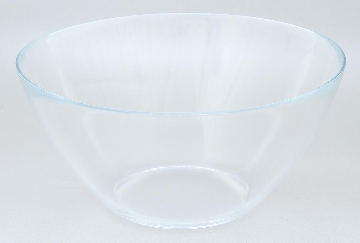 Салатник Luminarc Cosmos, диаметр 20 см30362Салатник Luminarc Cosmos изготовлен из высококачественного прозрачного стекла. Такой салатник прекрасно подходит для сервировки различных закусок, подачи легких салатов из свежих овощей и фруктов, соусов. Посуда отличается прочностью, гигиеничностью, устойчивостью к резким перепадам температур и долгим сроком службы. Такой салатник прекрасно подойдет для повседневного использования. Изделие можно мыть в посудомоечной машине. Диаметр салатника (по верхнему краю): 20 см. Высота салатника: 9,5 см.