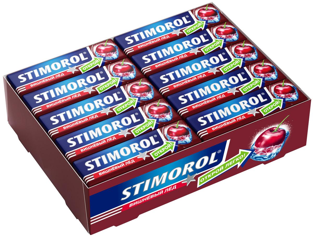 Stimorol Вишневый лед жевательная резинка без сахара, 30 пачек по 13,6 г0120710Stimorol Вишневый лед - популярная жевательная резинка. Обладает ярким выраженным долгим неугасаемым вкусом.