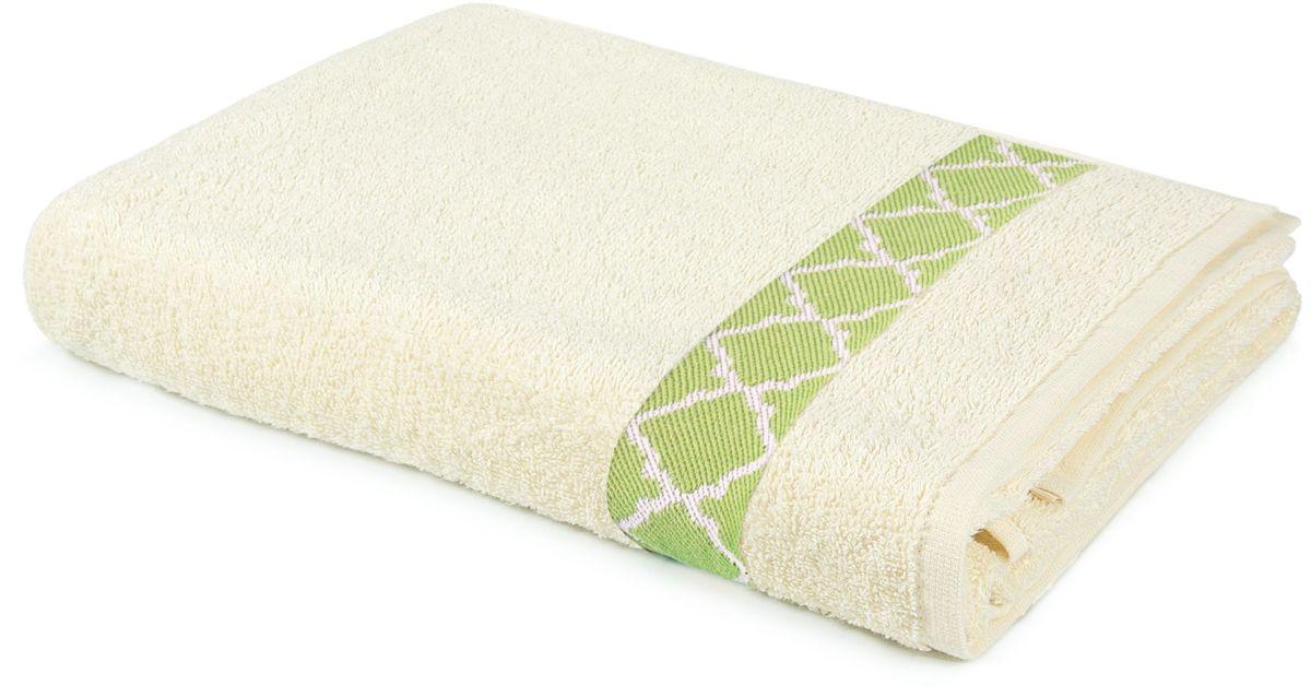 Полотенце махровое Aquarelle Таллин-1, цвет: ваниль, 70 х 140 см531-105Махровое полотенце Aquarelle Таллин-1 неотъемлемая часть повседневного быта, они создают дополнительные акценты в ванной комнате. Продукция производится из высококачественных материалов.Ткань: 100% хлопок.Размер: 70 х 140 см.