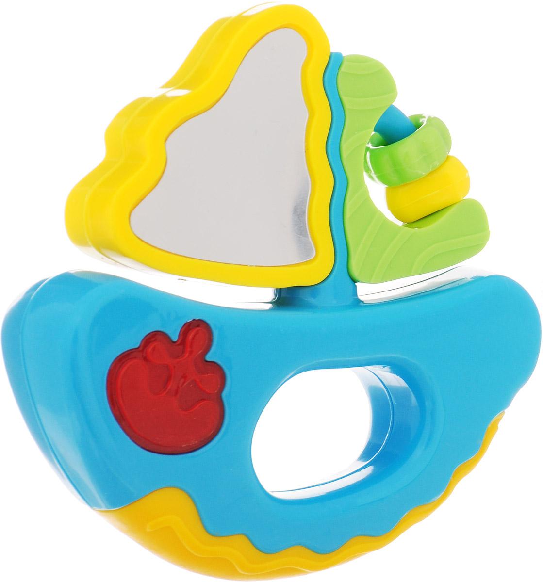 Mommy Love Развивающая игрушка Веселое путешествие Кораблик цвет голубой желтый, Dream Makers