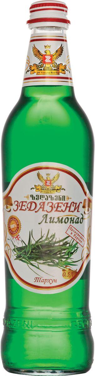Зедазени Лимонад Тархун, 500 мл4860103350091Лимонад Zedazeni изготовлен исключительно из натуральных ароматизаторов.