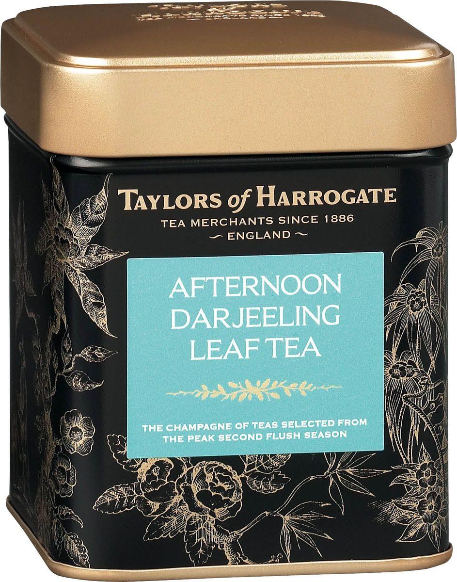 Taylors of Harrogate Дарджинг Полдник чай черный листовой байховый, 125 г4791029064284Смесь изысканных сортов чая для традиционного полдника. Этот элегантный напиток идеально подходит для полдника с кексами и пирожными. Чай собирают в чайных хозяйствах предгорий Гималаев на пике второго сезона - в момент, когда он достигает уровня наивысшего качества. При правильном его заваривании получается светлый напиток с утончённым мускатным, слегка терпким вкусом и цветочным ароматом. Такие свойства обеспечиваются особыми условиями произрастания чая: холодным и влажным климатом, высокогорным расположением плантаций и особенностями почвы. Способ приготовления: для приготовления этого восхитительного напитка засыпьте в хорошо прогретый заварной чайник листья чая Дарджилинг-Полдник, из расчета 1 ч. л. на человека плюс еще одна на сам чайник, и залейте только что вскипяченной водой. Настаивайте в течение 4-5 минут. Можно добавить молока на ваш вкус.