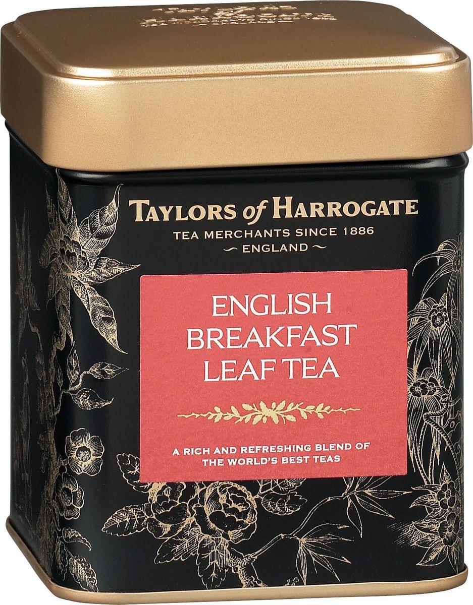 Taylors of Harrogate Английский завтрак чай черный листовой, 125 г00-00000389Бодрящий освежающий чай высочайшего качества, приготовленный по традиционному рецепту.Рецепт изготовления чая Английский завтрак совершенствовался на протяжении долгого времени. Для получения бодрящего чая с глубоким насыщенным цветом мы отбираем лучшие чайные листочки с предгорий Африки и Шри-Ланки. Утонченный аристократический вкус чая Английский завтрак дает представление об истинно Английском чае.Способ приготовления: для приготовления этого восхитительного напитка засыпьте в хорошо прогретый заварной чайник листья чая, из расчета 1 ч. л. на человека плюс еще одна на сам чайник, и залейте только что вскипяченной водой. Настаивайте в течение 4-5 минут. При подаче на стол можно добавить молока.