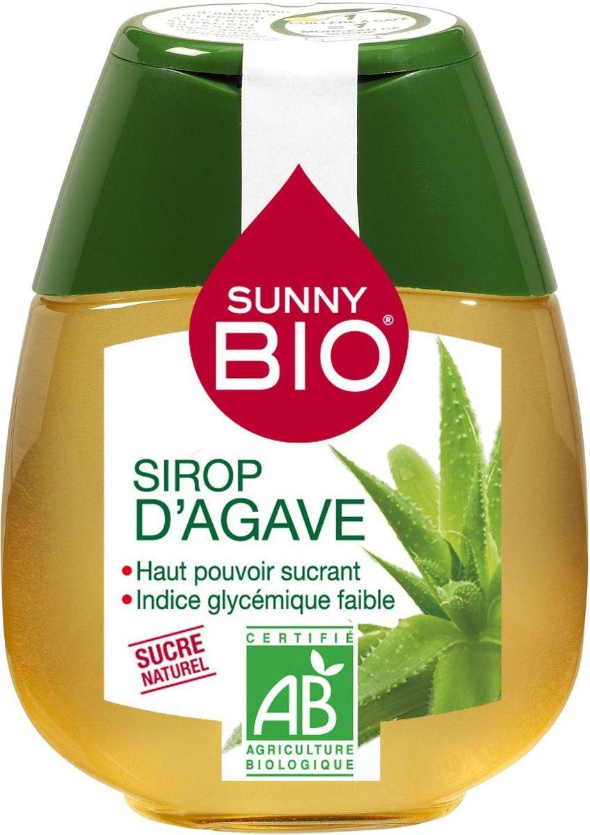 Sunny Bio Сироп Агавы BIO с диспенсером, 250 г0120710Сироп агавы BIO - здоровый и натуральный заменитель сахара. Получен из сока агавы - кактусового растения, произрастающего в Мексике, которое выращивается без применения химических удобрений, что подтверждается международным сертификатом. Обладает максимально низким гликемическим индексом, высокой сладостью. Не имеет выраженного вкуса и очень хорош для добавления в чай и кофе, теплые напитки, фруктовые десерты, йогурты и другие блюда.
