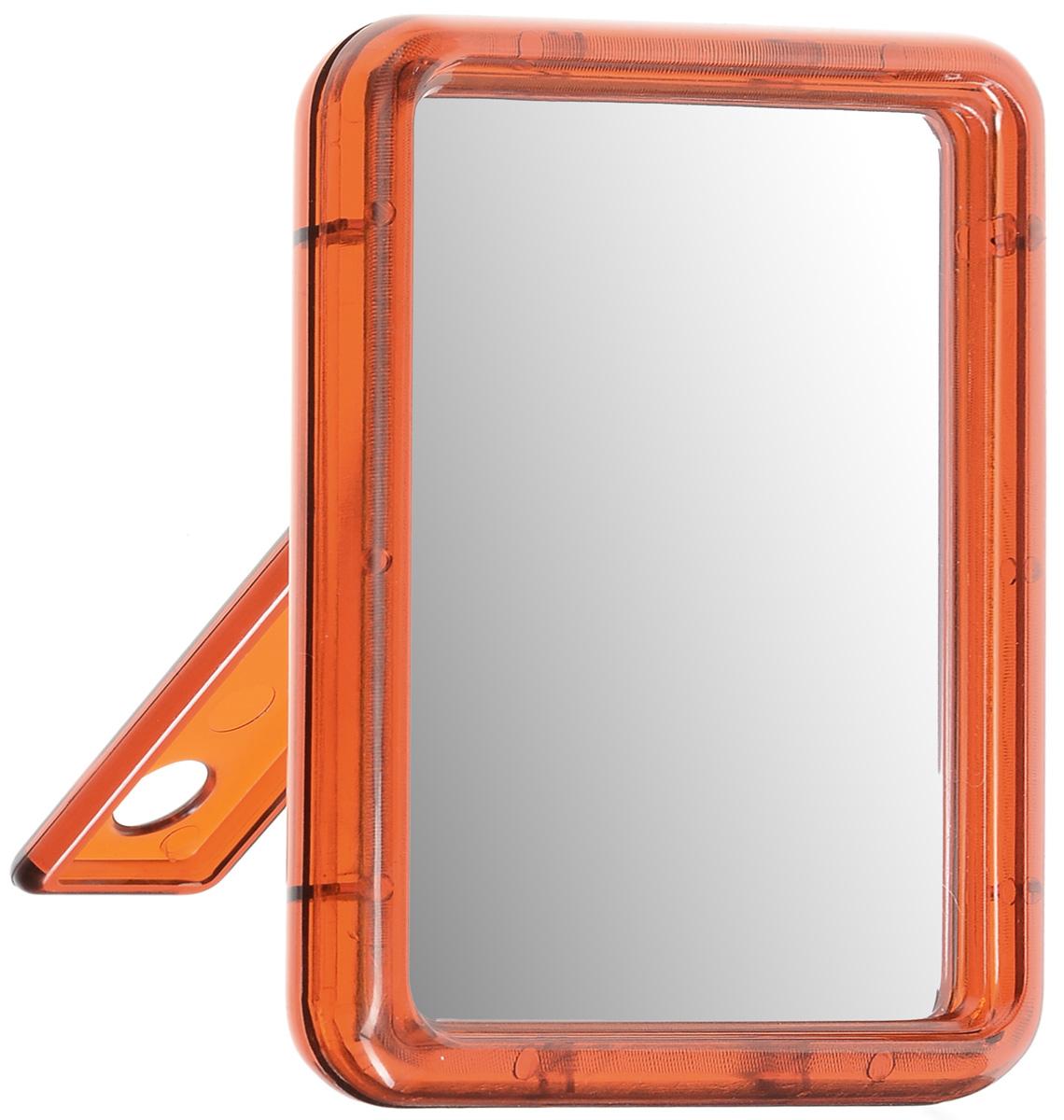 Зеркало настольное Silva, одностороннее, 10 х 13 см1301210Настольное косметическое зеркало Silva в пластиковом корпусе идеально подходит для нанесения макияжа и совершения различных косметических процедур. Одностороннее зеркало с регулируемым углом наклона позволит вам установить его так, как это удобно вам. Яркий и стильный дизайн делает зеркало отличным подарком родным и близким, оно будет прекрасно смотреться в любом интерьере.