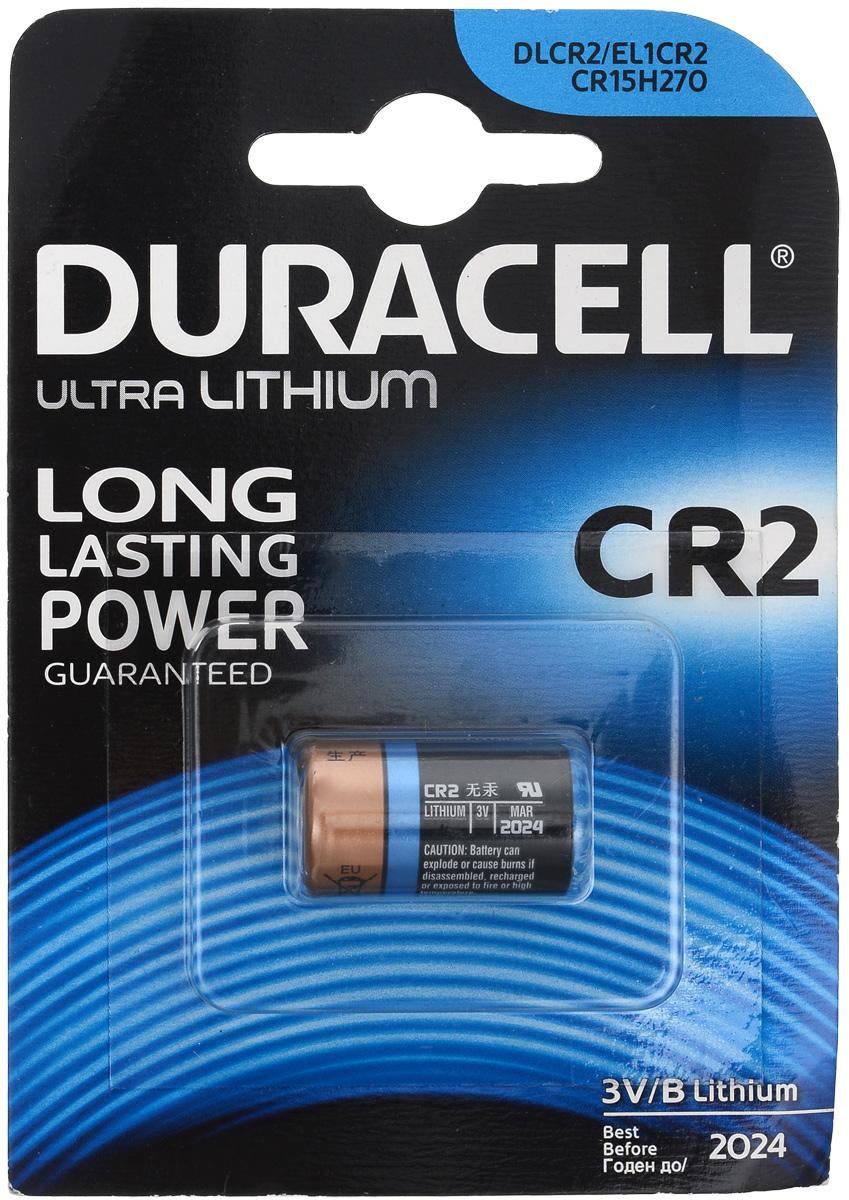 Батарейка литиевая Duracell Ultra Photo, тип CR2, 3B1651Батарейка литиевая Duracell Ultra Photo используется для фотоаппаратов с типоразмером батареи CR2.Большинство из современных цифровых фотоаппаратов предъявляютсерьёзные требования к таким характеристикам батареек, как емкость и способность к быстрому возобновлению энергии. В качестве ответа на эту всё возрастающую потребность появились специальные литиевые батарейки для фотоаппаратов, лидером в производстве которых является Duracell.Литиевые элементы питания характеризуют:высокая мощность, что позволяет использовать их для фототехники;более высокое напряжение, чем источники тока других электрохимических систем (3В);низкий уровень саморазряда; длительный срок хранения (10 лет);широкий диапазон рабочих температур.Не разбирать, не перезаряжать, не подносить к открытому огню. Не устанавливать одновременно новые и использованные батарейки, а также батарейки различных марок, систем и типов. При установке соблюдать полярность (+/-). Хранить в недоступном для детей месте.