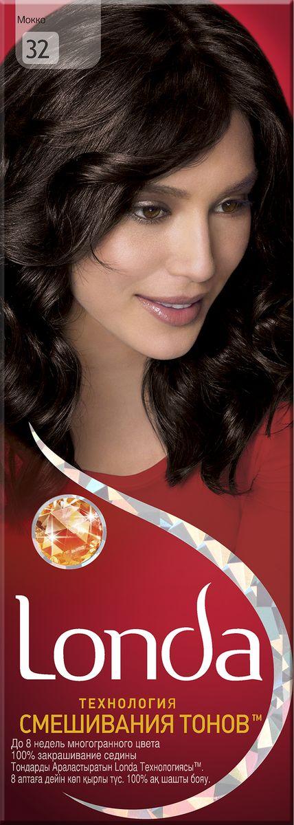 LONDA Крем-краска для волос стойкая 32 МоккоLC-81212657Ищите цвет, полный жизни, который бы сохранился надолго? Крем-краска для волос Londa идеально вам подойдет. Эксклюзивная система окрашивания дарит вам до 8 недель многогранного цвета. Это возможно благодаря технологии смешивания тонов, которая объединяет богатые оттенки, и бальзаму Стойкий цвет, который надолго сохранит ваш насыщенный цвет. 100% закрашивание седины.Товар сертифицирован.