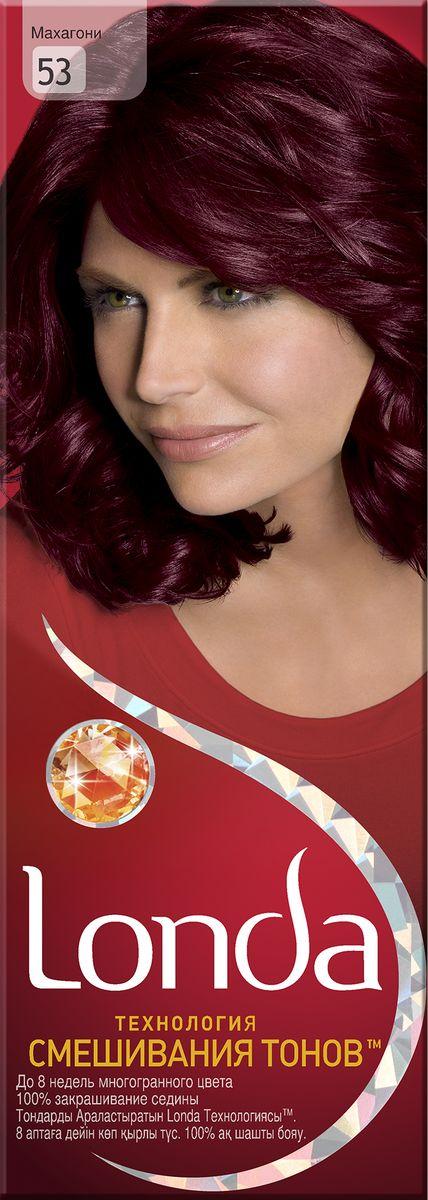 LONDA Крем-краска для волос стойкая 53 МахагониLC-81246974Ищите цвет, полный жизни, который бы сохранился надолго? Крем-краска для волос Londa идеально вам подойдет. Эксклюзивная система окрашивания дарит вам до 8 недель многогранного цвета. Это возможно благодаря технологии смешивания тонов, которая объединяет богатые оттенки, и бальзаму Стойкий цвет, который надолго сохранит ваш насыщенный цвет. 100% закрашивание седины.Товар сертифицирован.