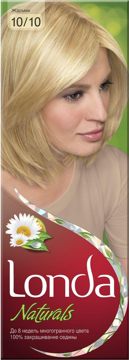 LONDA Крем-краска для волос стойкая Naturals 10/10 ЖасминLC-81212684Ищите цвет, полный жизни, который бы сохранился надолго? Крем-краска для волос Londa идеально вам подойдет. Эксклюзивная система окрашивания дарит вам до 8 недель многогранного цвета. Это возможно благодаря технологии смешивания тонов, которая объединяет богатые оттенки, и бальзаму Стойкий цвет, который надолго сохранит ваш насыщенный цвет. 100% закрашивание седины.Товар сертифицирован.