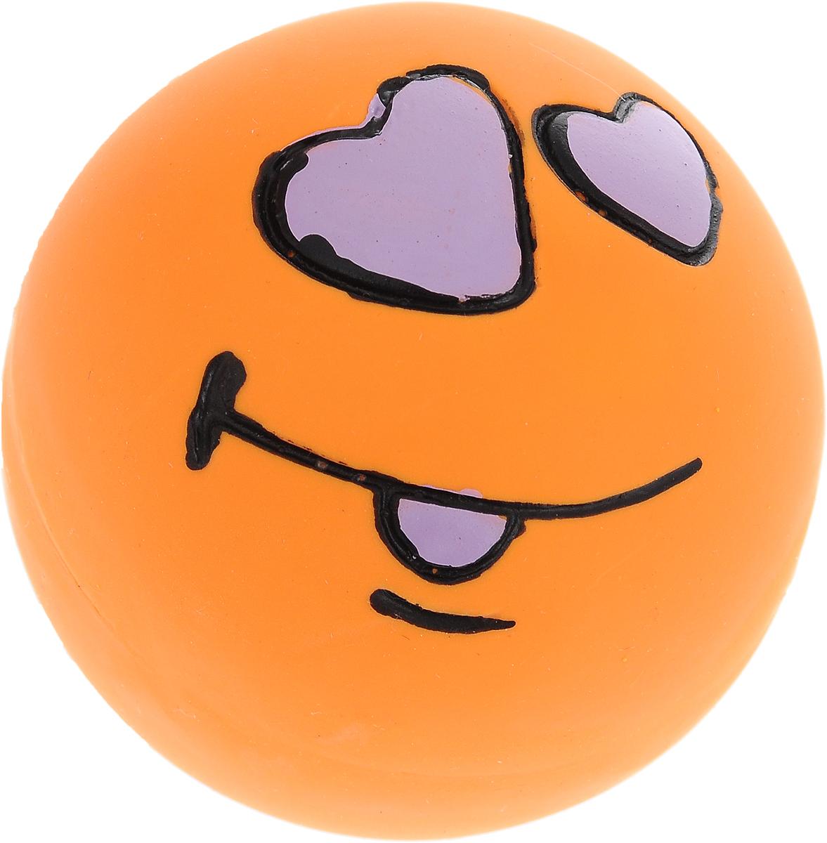 Игрушка для собак Dezzie Мяч. Любовь, с пищалкой, диаметр 6 см12171996Очаровательная игрушка Dezzie Мяч. Любовь обеспечит веселый досуг вашей собаке. Она безопасна для здоровья животного. Латекс не твердеет под действием желудочного сока, поэтому игрушку можно смело покупать даже самым маленьким щенкам. В мяч встроена пищалка. С такой игрушкой ваш питомец точно не будет скучать.Диаметр игрушки: 6 см.
