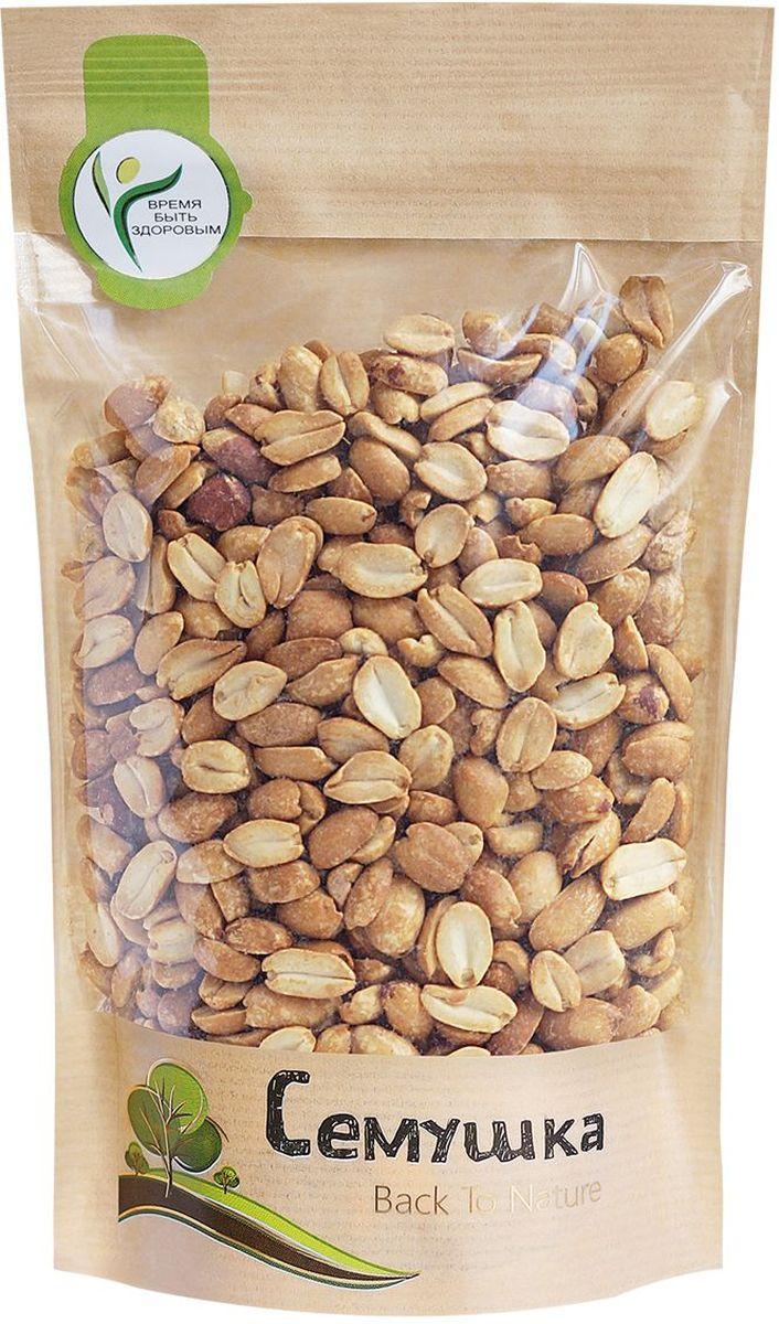 Семушка арахис жареный соленый, 250 г0120710Арахис по питательной ценности превосходит все орехи. Является полноценным заменителем животных белков, так как по содержанию и составу белков превосходит даже мясо. Снижает риск сердечно-сосудистых заболеваний и активизирует иммунную систему.