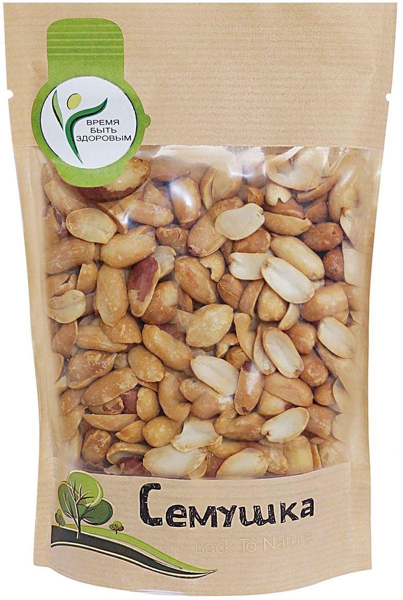 Семушка арахис жареный соленый, 150 г0120710Арахис по питательной ценности превосходит все орехи. Является полноценным заменителем животных белков, так как по содержанию и составу белков превосходит даже мясо. Снижает риск сердечно-сосудистых заболеваний и активизирует иммунную систему.