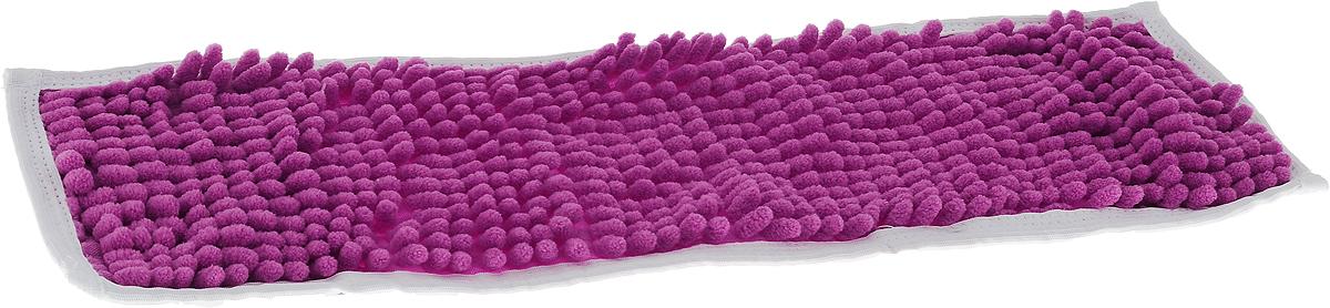 Насадка для швабры Коллекция, цвет: фиолетовый, 43 х 13 см466324Насадка на швабру Коллекция, изготовленная из 100% полиэстера, предназначена для влажной и сухой уборки напольных покрытий: паркет, линолеум, кафель и так далее. Обладает большой впитывающей способностью. Не оставляет разводов и ворсинок, прекрасно собирает пыль и удаляет загрязнения. Легко споласкивается водой, не требует дополнительного ухода.Размер насадки: 43 х 13 см.Высота ворса: 1,5 см.