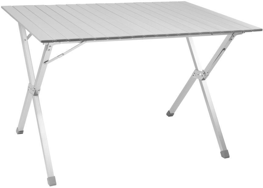 Стол складной Trek Planet Dinner 110, кемпинговый, 110 x 70 x 70 см70668Складной стол Dinner 110 отличный выбор для кемпинга.Столешница из наборного алюминия компактно скручивается в рулон.Быстрая, простая сборка.В сложенном виде не занимает много места.Комплектуется чехлом с лямкой для переноски и хранения- Столешница из наборного алюминия- Компактно скручивается в рулон- Складывается в футляр из прочногоматериала с лямкой для переноскиХарактеристики: Материал: Столешница: наборный алюминий с матовым покрытиемРама: 25 мм алюминий с матовым покрытиемРазмер в разложенном виде: 110x70x70 смРазмер в сложенном виде: 20х13х110 смВес: 4,9 кгНагрузка: 30 кгПроизводство: КитайАртикул: 70668