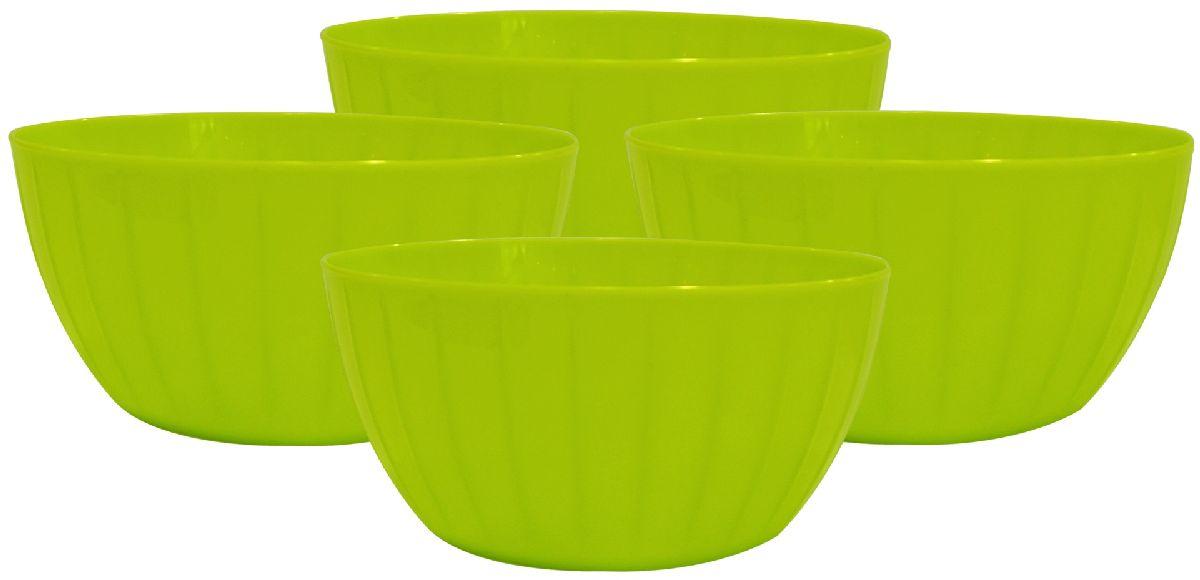 Набор салатников Giaretti Fiesta, цвет: оливковый, 0,6 л, 4 штFS-91909Серия салатников Fiesta – новая итальянская новинка от Giaretti. Они выгодно подчеркнут преимущества ваших блюд. Салатники удобно помещаются друг в друга, что позволяет практично использовать пространство для хранения. Идеально подходят для подачи салатов порционно, индивидуально каждому гостю!